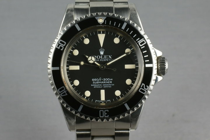 Rolex Submariner  5512 Mark 1 Maxi 4 line photo