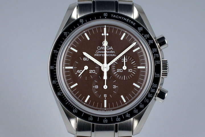 2000's Omega Speedmaster Moonwatch 311.30.42.30.13.001 Brown Dial photo