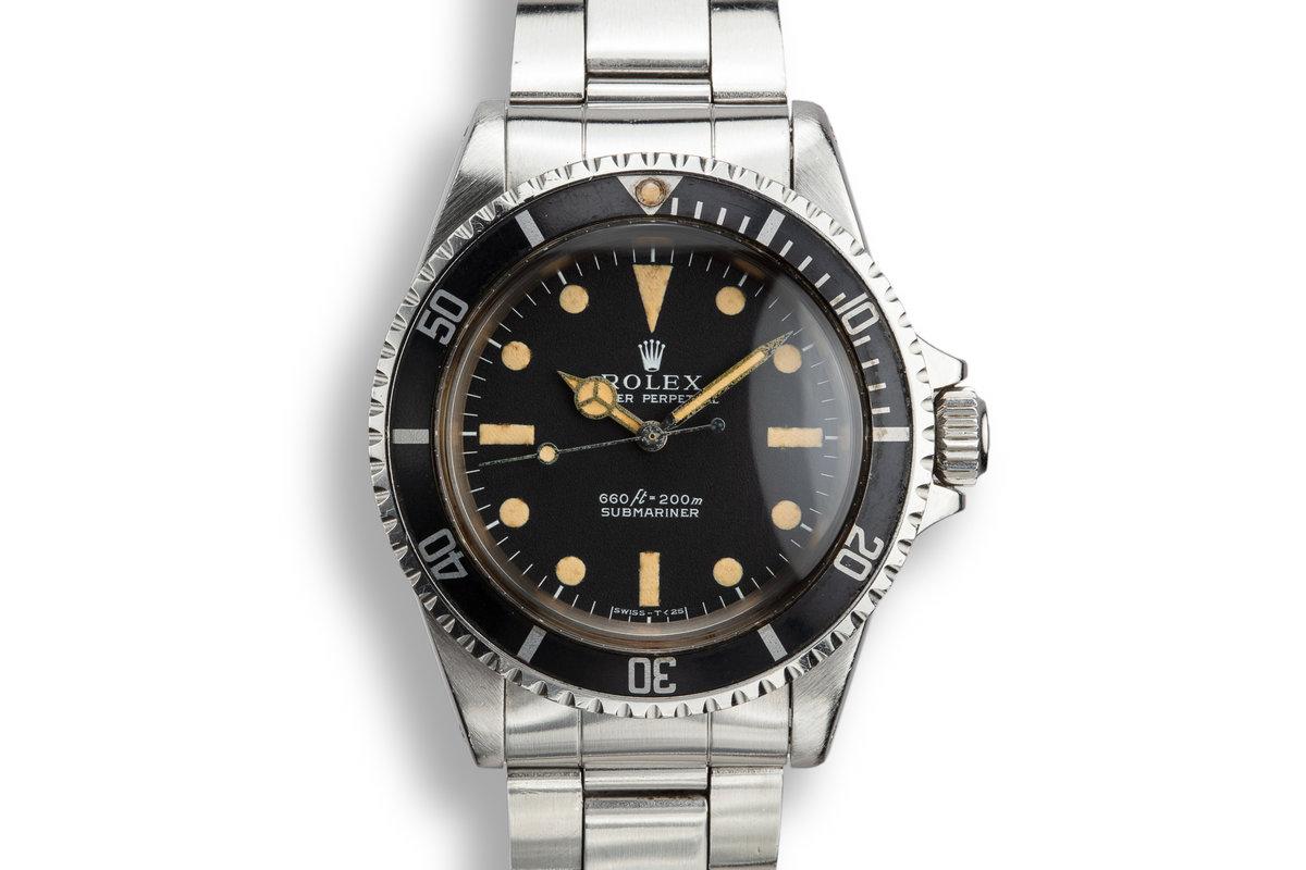 1970 Rolex Submariner 5513 photo, #0