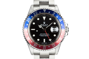 "2004 Rolex GMT-Master II 16710 ""Pepsi"" with Box and Papers photo"