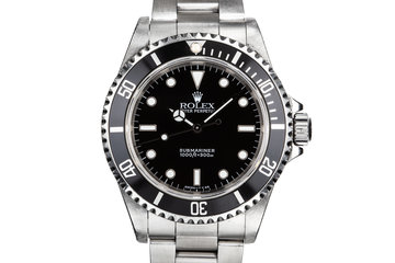 1997 Rolex Submariner 14060 photo