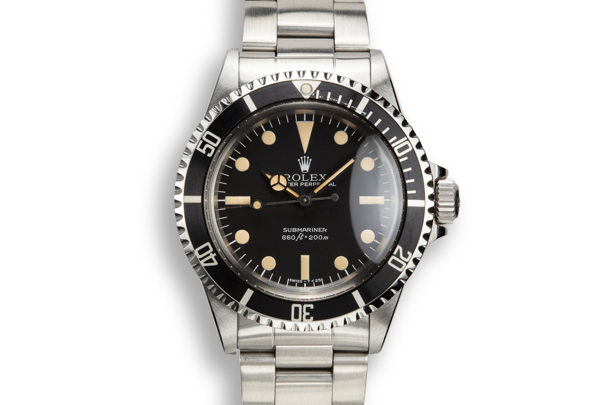 "1979 Rolex Submariner 5513 with Mk 3 ""Lollipop"" Maxi Dial photo, #0"