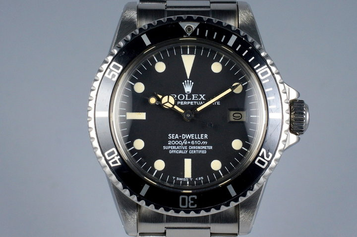 1978 Rolex Sea Dweller 1665 Rail Dial photo