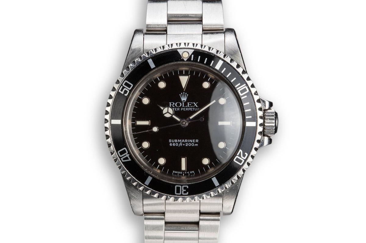 1989 Rolex Submariner 5513 Glossy Dial photo, #0