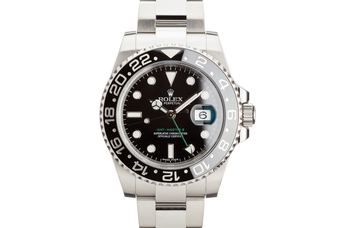 2016 Rolex GMT-Master II 116710LN Black Bezel with Box and Card photo, #0