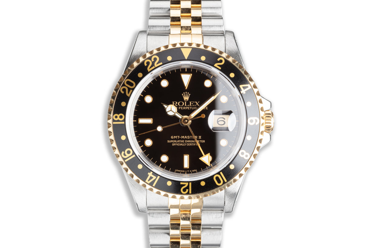 1995 Rolex Two-Tone GMT-Master II 16713 photo, #0