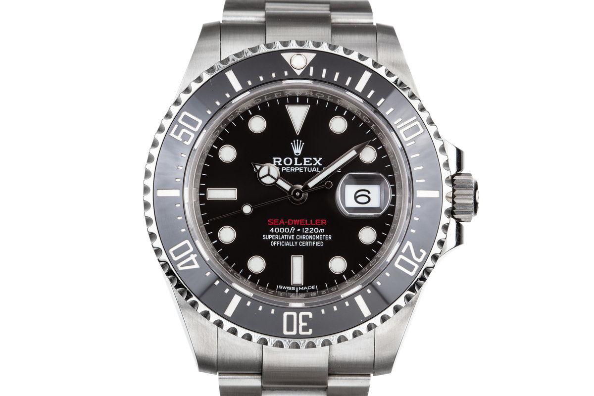 2017 Rolex Red Sea-Dweller 126600 with Box and Papers photo, #0