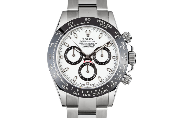 2016 Rolex Ceramic Daytona 116500LN White Dial with Box and Papers photo