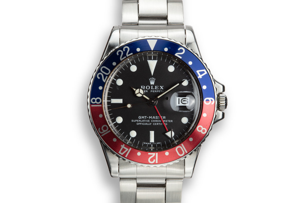 1971 Rolex GMT-Master 1675 with Box and Papers photo, #0
