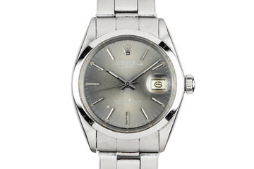 1969 Rolex Date 1500 Grey Dial photo