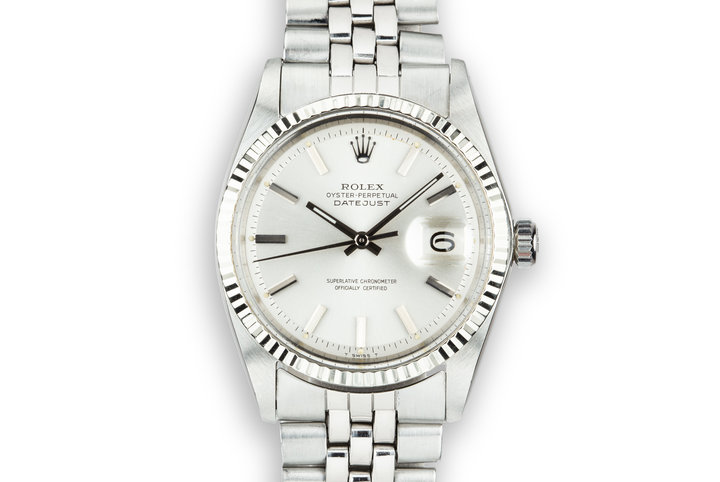 1968 Rolex DateJust 1601 Silver Dial photo