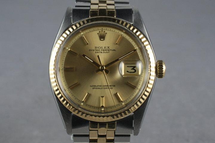 1970 Rolex Two Tone DateJust Ref: 1601 photo