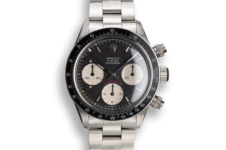 "1979 Rolex Daytona 6263 ""Big Red"" Black Dial photo"