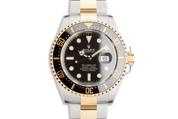2020 Rolex Two-Tone Sea-Dweller 126603 with Box & Card photo