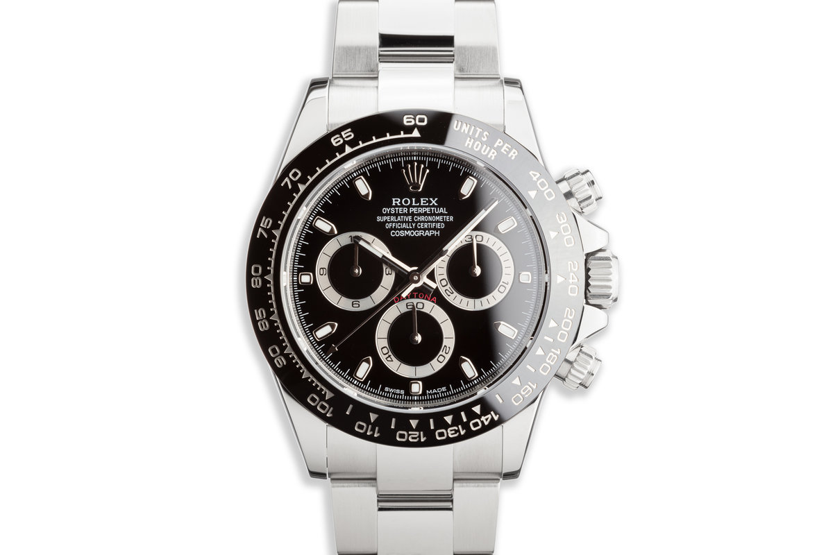 2017 Rolex Daytona 116500LN Black Dial with Box and Card photo, #0