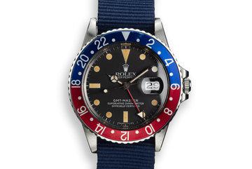 """1983 Rolex GMT-Master 16750 """"Pepsi"""" photo"""