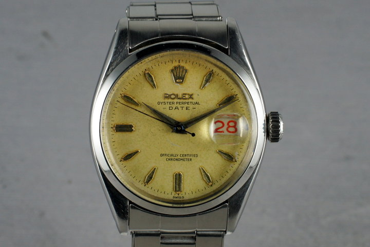 1956 Rolex Oyster Perpetual Date 6534 photo