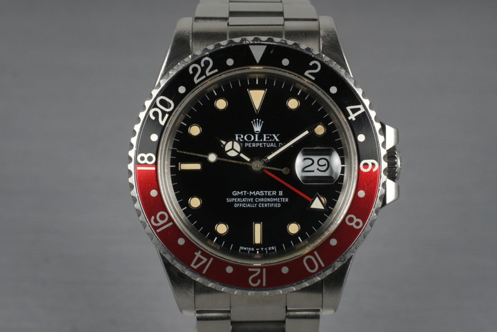 1987 Rolex Fat Lady GMT 16760 with Box and Papers photo