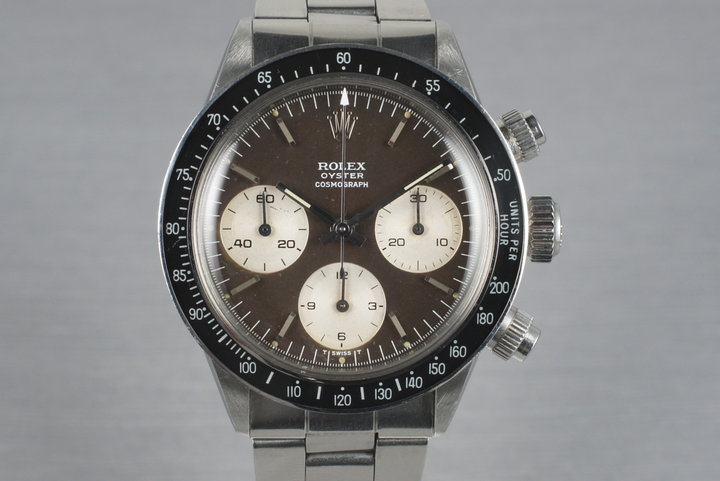 1969 Rolex Daytona 6263 with Tropical Brown Dial photo