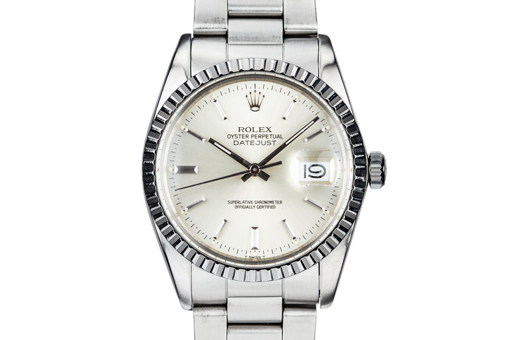 1981 Rolex DateJust 16030 Silver Dial photo
