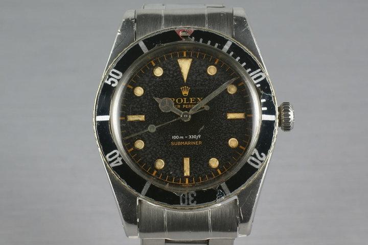 Rolex Submariner 5508 Unpolished photo