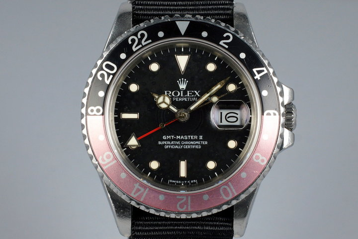 1987 Rolex Fat Lady GMT 16760 photo
