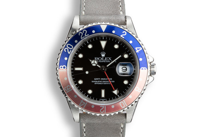 "1991 Rolex GMT-Master 16700 ""Pepsi"" with ""SWISS"" Only Dial photo"