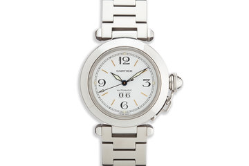 Cartier Pasha 2475 White Dial with Box photo