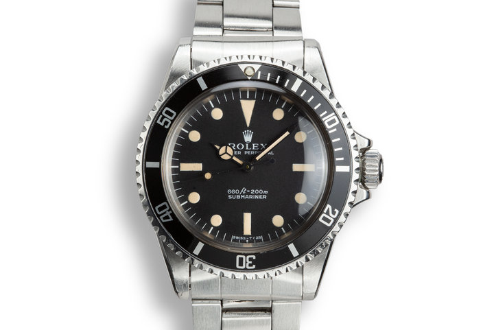 1971 Rolex Submariner 5513 Serif Dial photo