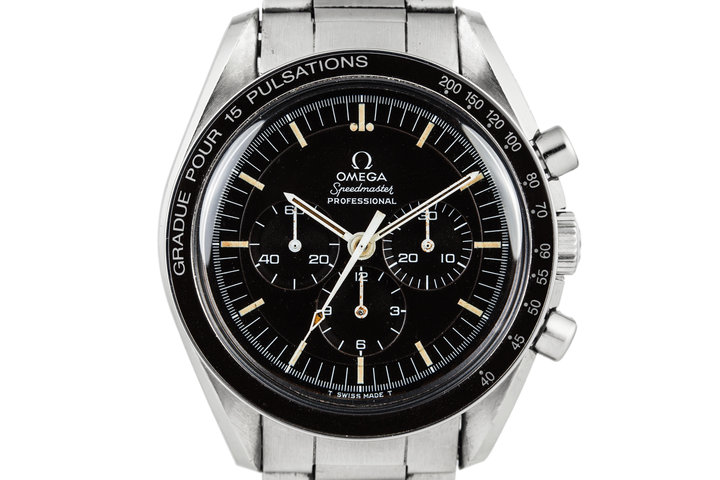 1969 Omega Speedmaster Professional 145.022.69 with Pulsations Bezel and stepped dial photo