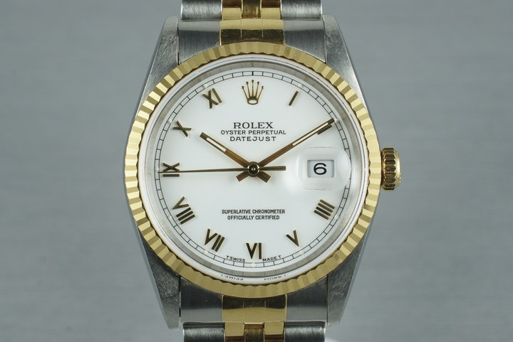 1995 Rolex Two Tone DateJust 16233 photo