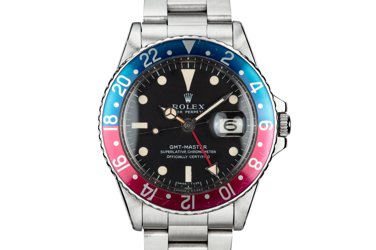 1968 Rolex GMT-Master 1675 with Mark 1 Dial photo, #0