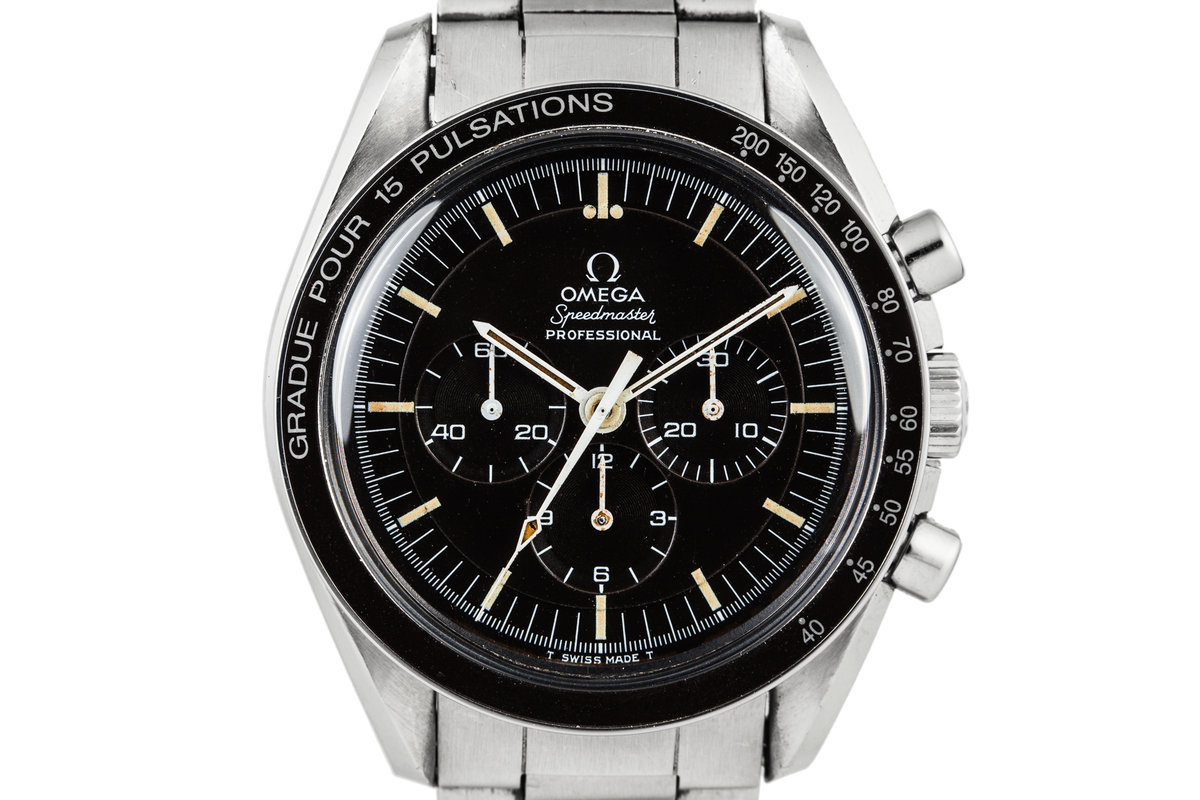 1969 Omega Speedmaster Professional 145.022.69 with Pulsations Bezel and stepped dial photo, #0