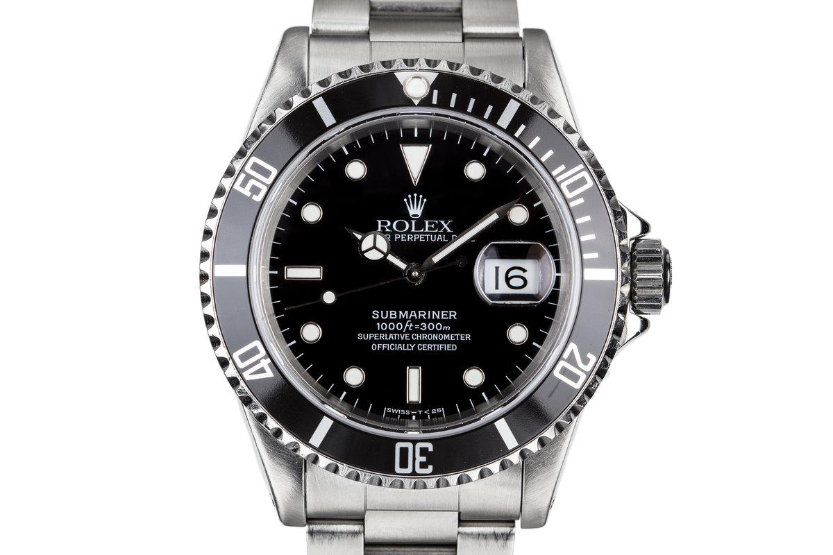 1993 Rolex Submariner 16610 photo, #0
