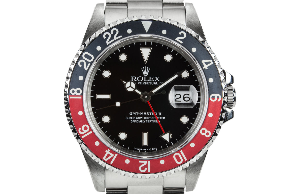 1995 Rolex GMT-Master II 16710 with faded Coke Bezel photo, #0