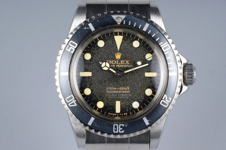 1966 Rolex Submariner 5512 Tropical Gilt 4 Line Dial photo