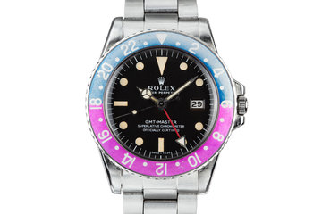 1970 Rolex GMT-Master 1675 with Fuchsia Bezel Insert photo