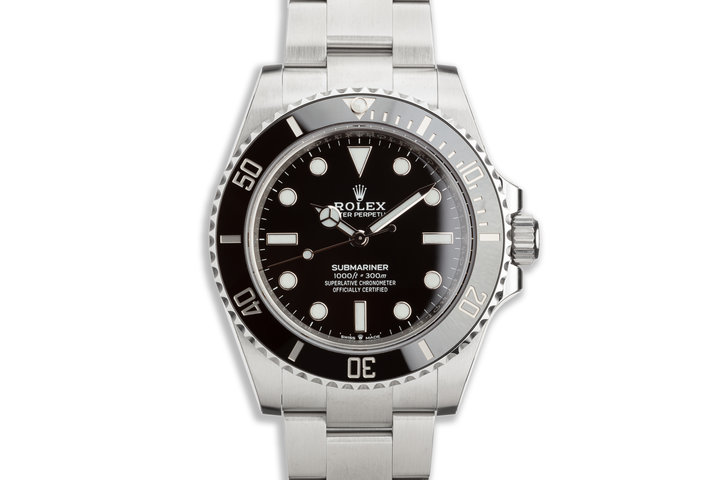 NEW 41MM 2020 Rolex Submariner No-Date 124060 with Box, Card & Stickers photo