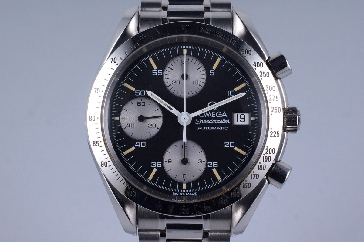 Late 1990's Omega Speedmaster Reduced Automatic Date 3811.50 photo, #0