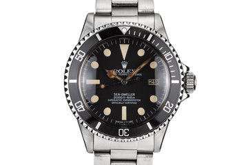 1981 Rolex Sea-Dweller 1665 photo