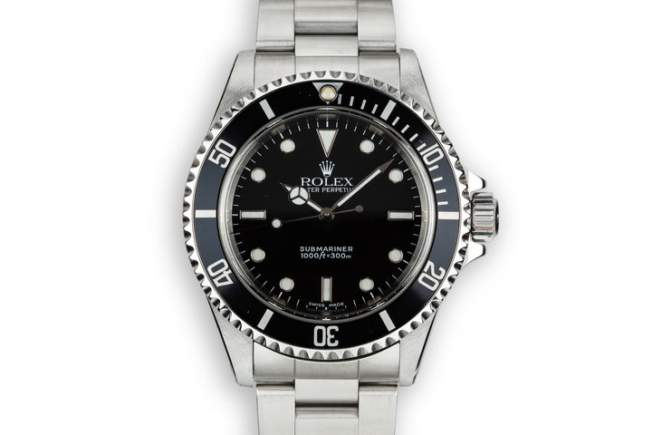 2000 Rolex Submariner 14060M with Box and Papers photo