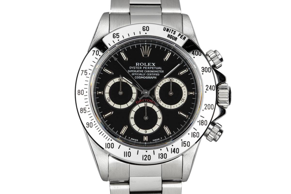 1993 Rolex Zenith Daytona 16520 with Black Inverted 6 Dial photo, #0