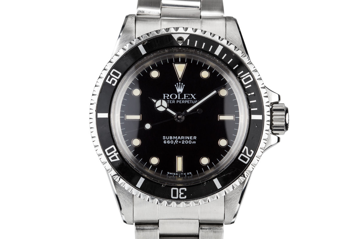 508ede824610 HQ Milton - 1968 Vintage Rolex Submariner 5513 with Service Dial and ...