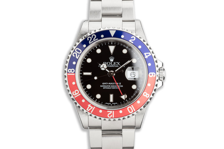 "2000 Rolex GMT-Master II 16710 ""Pepsi"" photo"