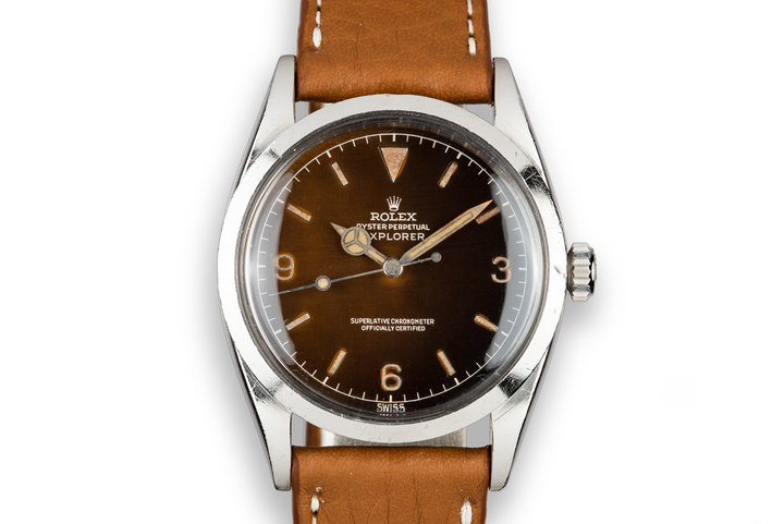 1960 Rolex Explorer 1016 with Tropical Gilt Dial photo
