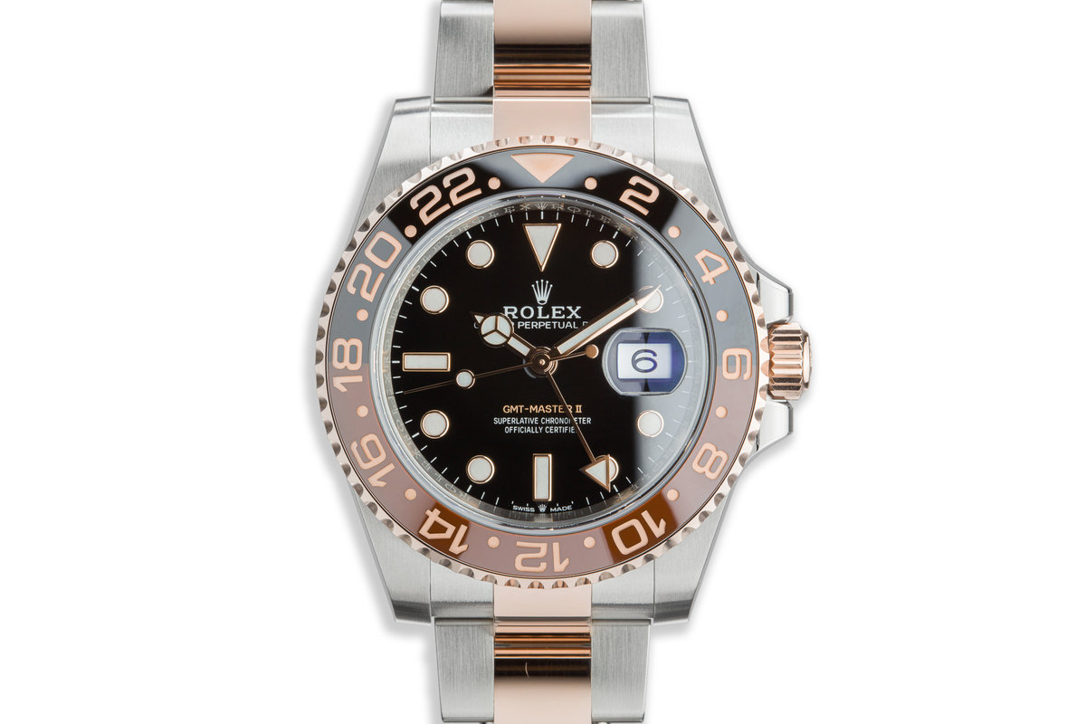 """2020 Rolex GMT-Master II 126711CHNR """"Root Beer"""" with Full Set photo, #0"""