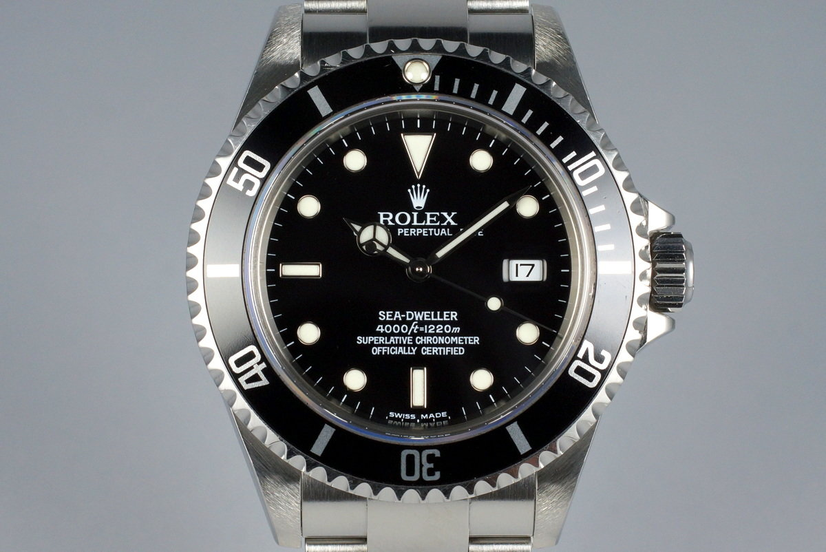 2003 Rolex Sea Dweller 16600 photo, #0