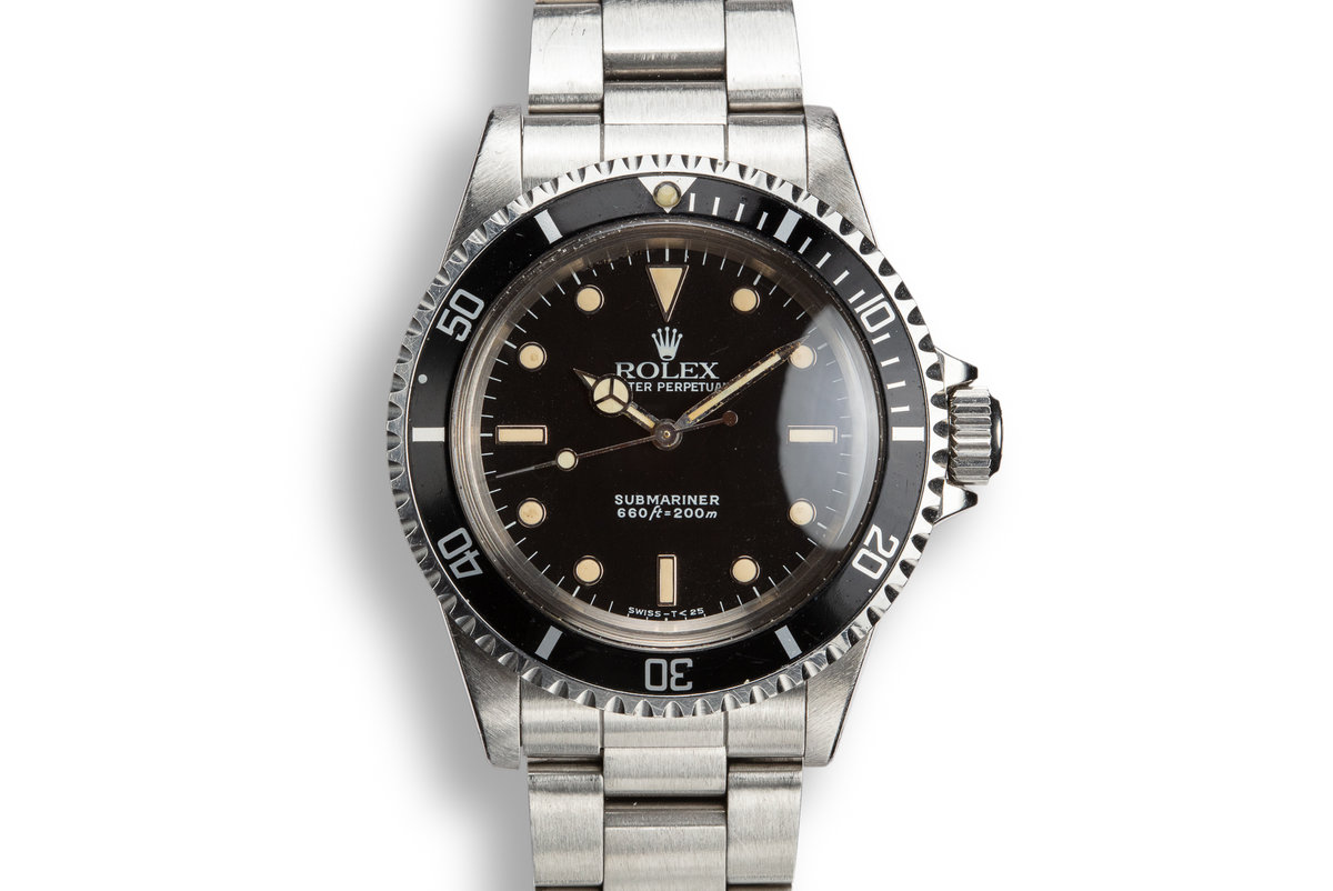 1988 Rolex Submariner 5513 Glossy Dial photo, #0