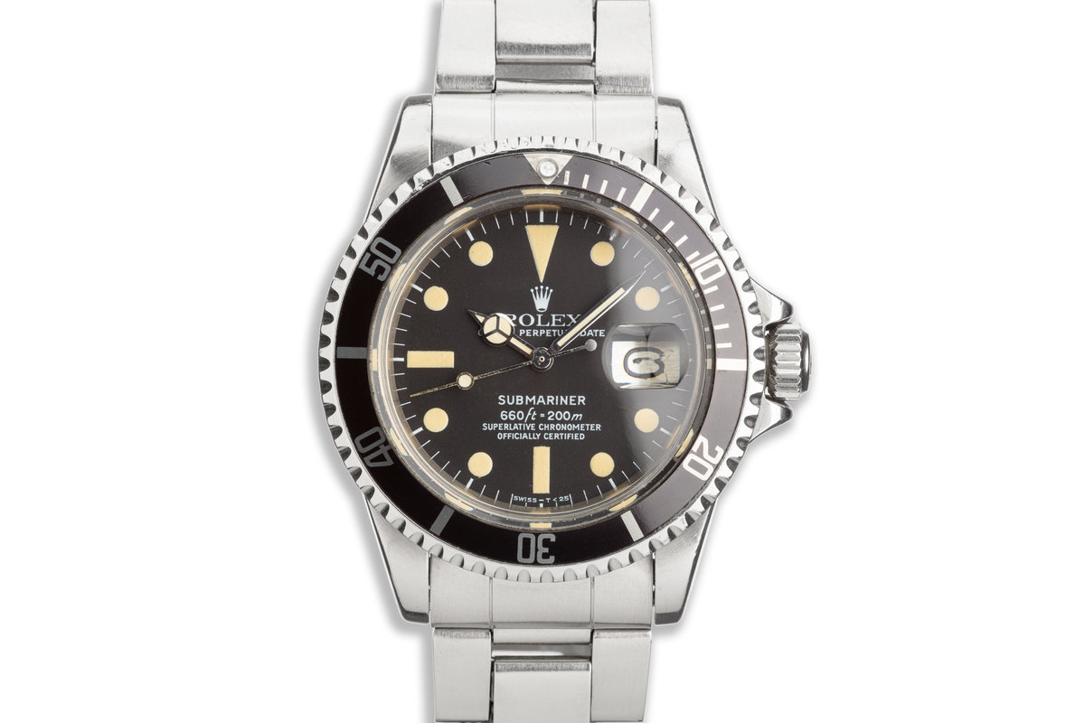 1977 Vintage Rolex Submariner 1680 with Original Box, Hangtags & Service Papers photo, #0