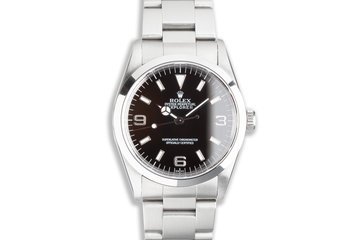 1999 Rolex Explorer 14270 with Box & Papers photo